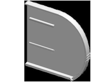 Крышки коробные комплект L,R (правая)