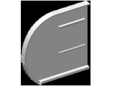 Крышки коробные комплект L,R (левая)