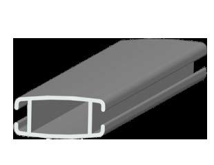 Нижняя планка алюминиевая средняя